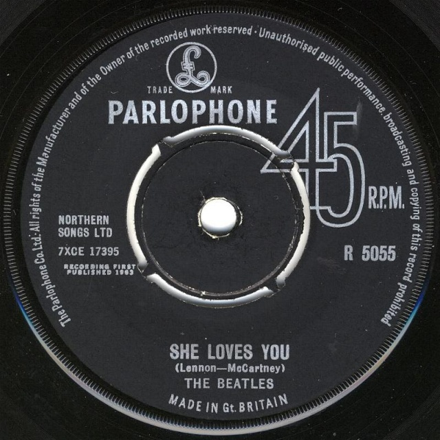 She Loves You/I'll Get You R5055-10