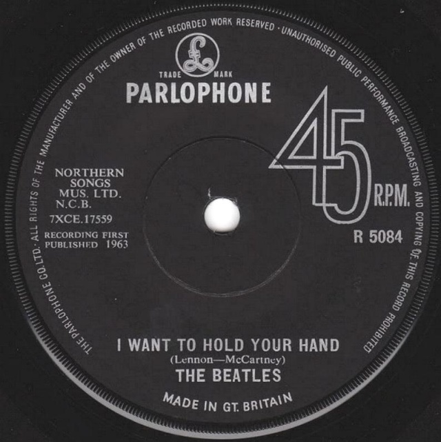 I Want To Hold Your Hand/This Boy R5084-16
