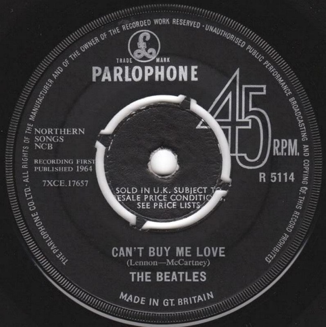 Can't Buy Me Love/You Can't Do That R5114-14