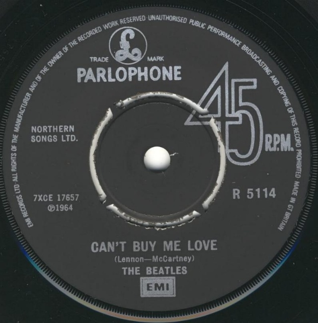 Can't Buy Me Love/You Can't Do That R5114-17