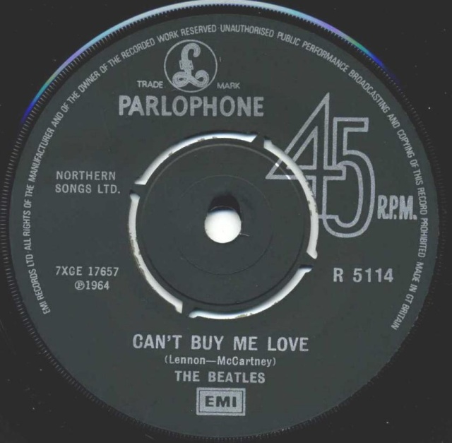 Can't Buy Me Love/You Can't Do That R5114-21