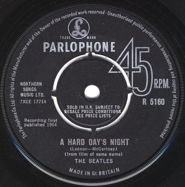A Hard Day's Night/Things We Said Today R5160-10
