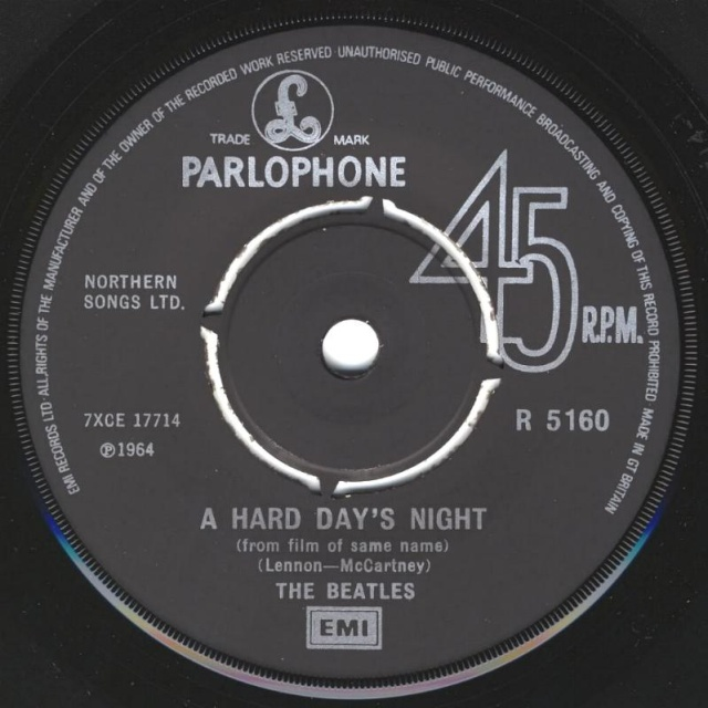 A Hard Day's Night/Things We Said Today R5160-14