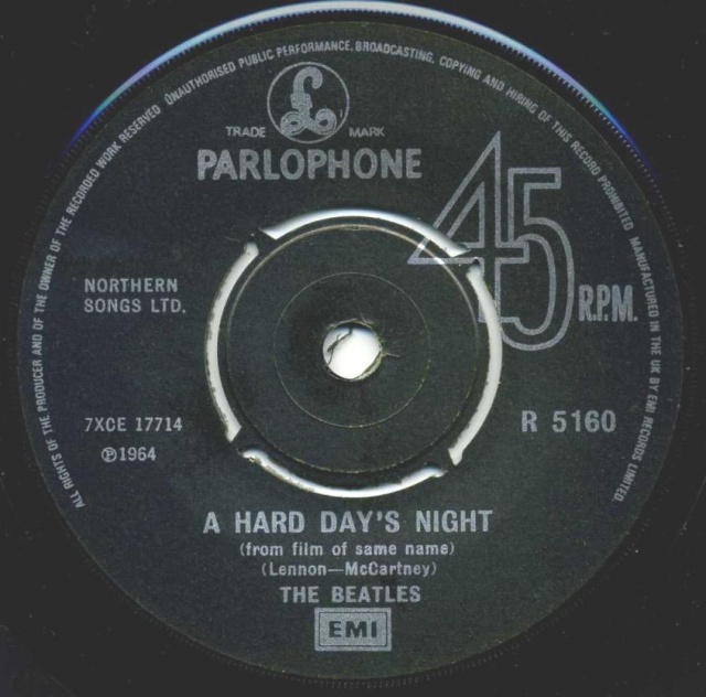 A Hard Day's Night/Things We Said Today R5160-18