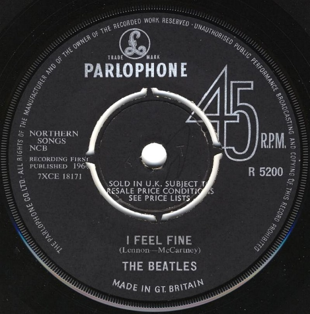 I Feel Fine/She's A Woman R5200-10