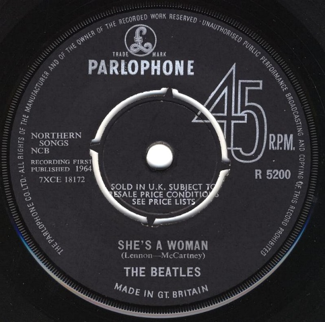 I Feel Fine/She's A Woman R5200-11