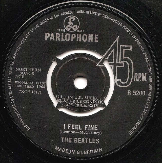 I Feel Fine/She's A Woman R5200-12