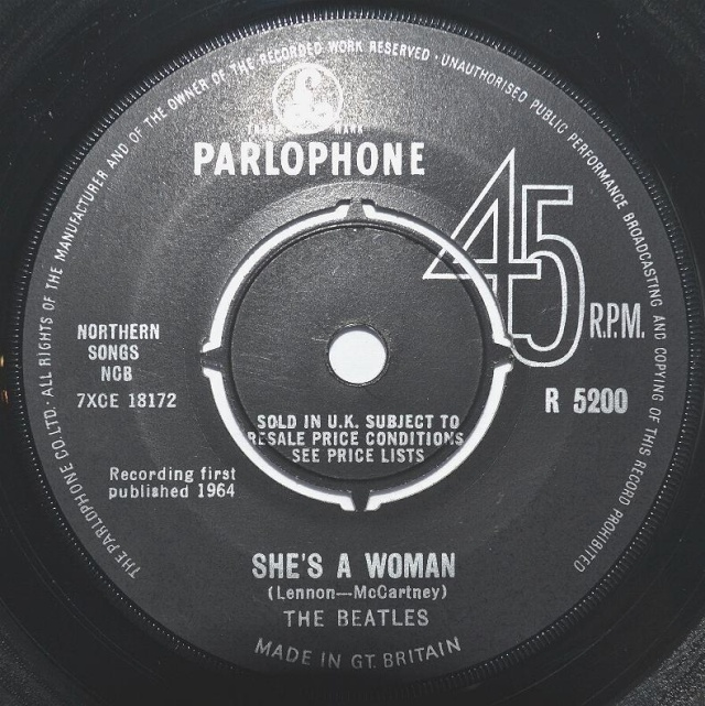 I Feel Fine/She's A Woman R5200-19