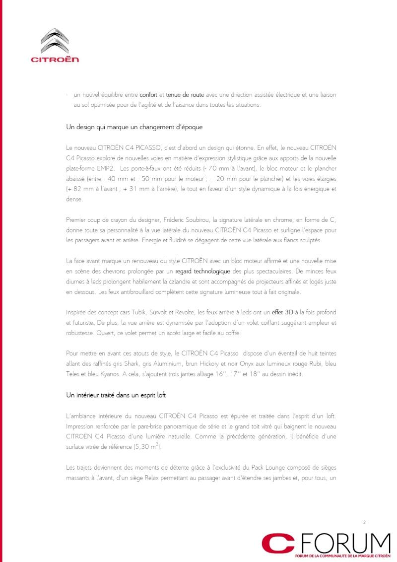 [SUJET OFFICIEL] C4 Picasso II [B78] - Page 2 Dp_c4p11
