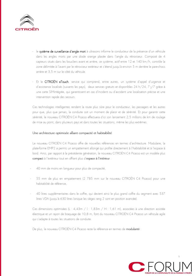 [SUJET OFFICIEL] C4 Picasso II [B78] - Page 2 Dp_c4p14