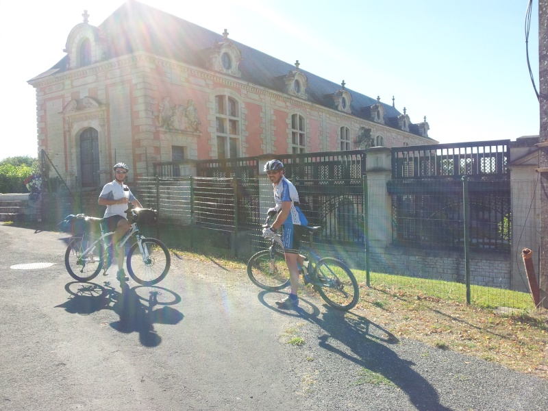 [CR] Niort - Montpellier en vtt 20130812