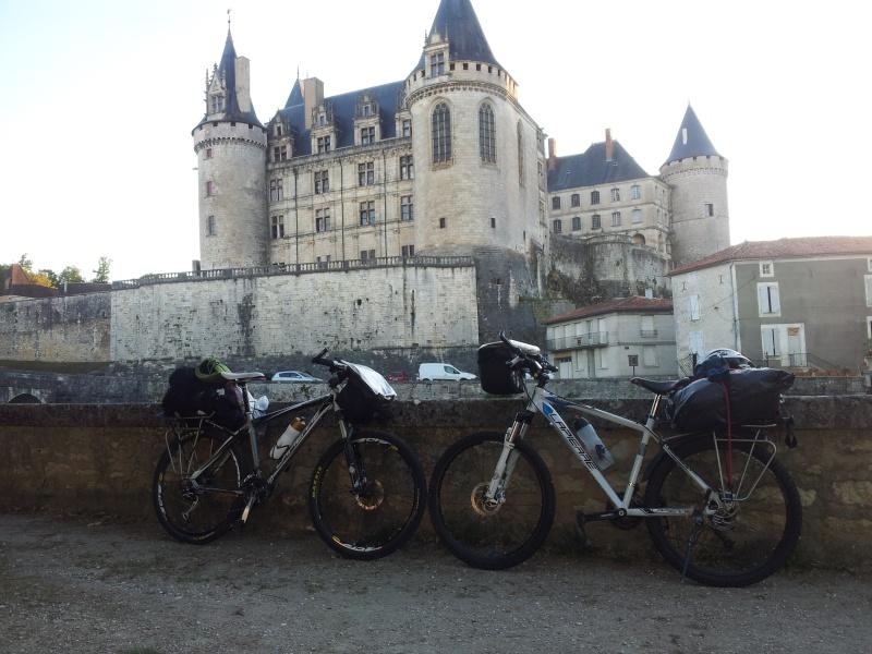[CR] Niort - Montpellier en vtt 20130815