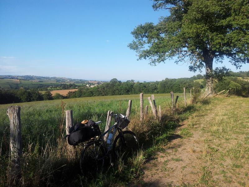 [CR] Niort - Montpellier en vtt 20130817
