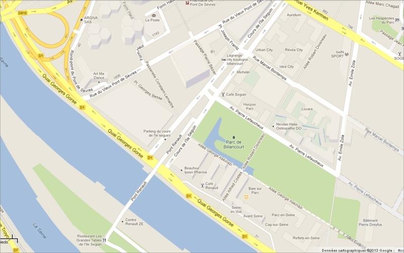 Plan du trapèze / nom des résidences et des rues Image210