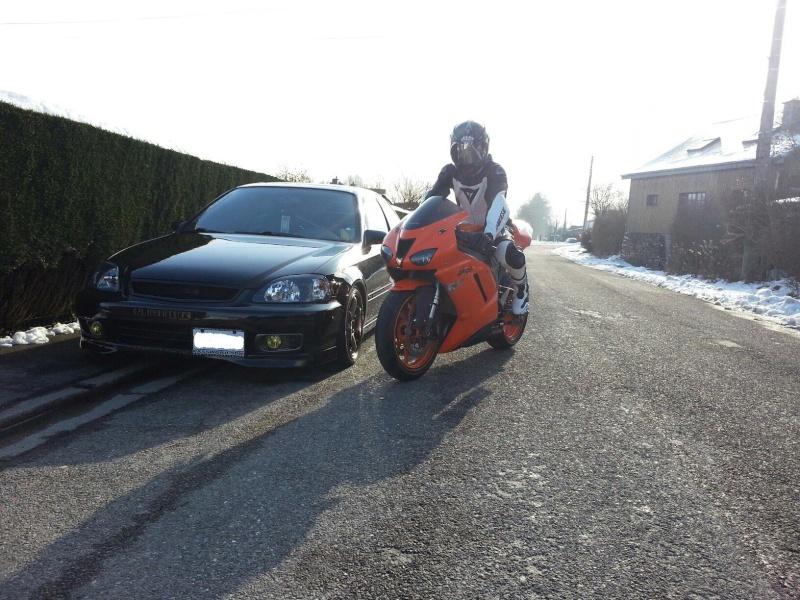 Ma Ninja Zx6r K8 orange/black Clean Look ! ! !  85617510