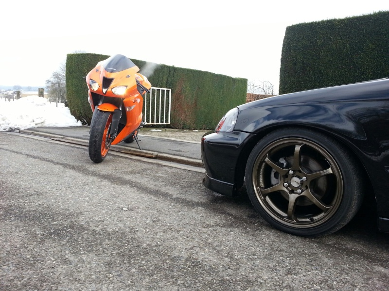 Ma Ninja Zx6r K8 orange/black Clean Look ! ! !  85863210