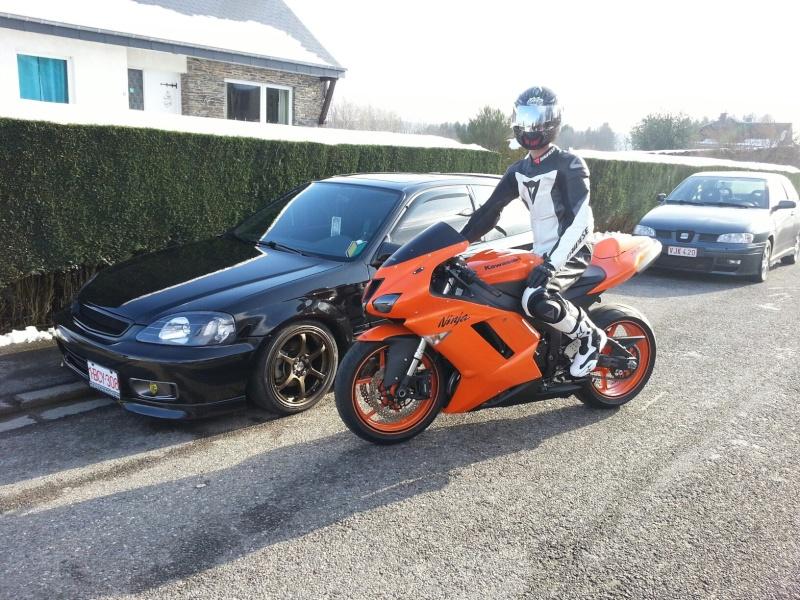 Ma Ninja Zx6r K8 orange/black Clean Look ! ! !  86091210