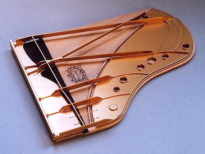 Klavier (Flügel) Scratchbuild Bau_510