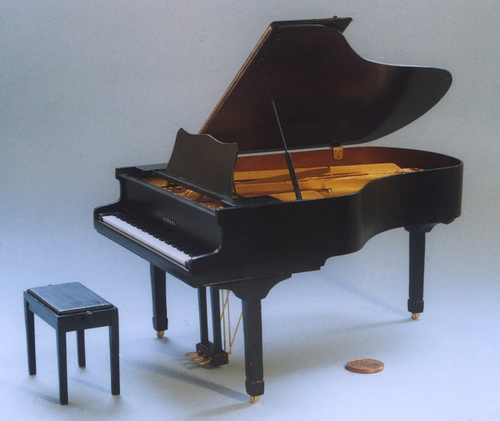 Klavier (Flügel) Scratchbuild P111