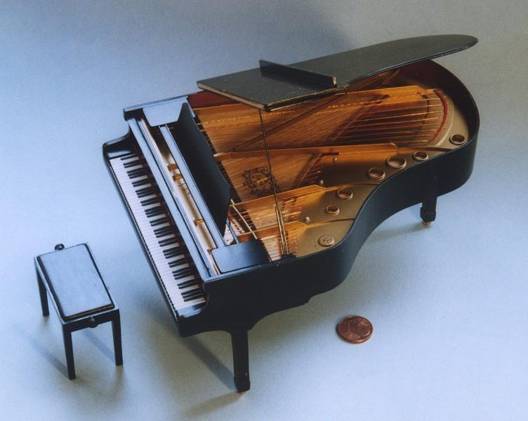 Klavier (Flügel) Scratchbuild P211