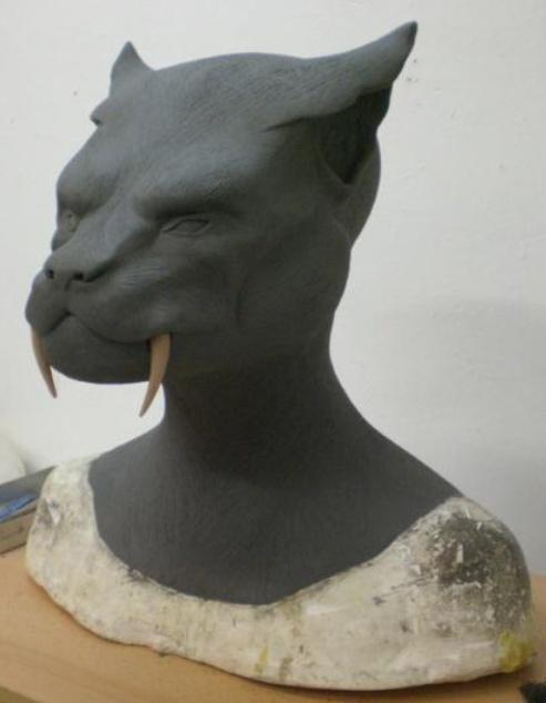 Ma premiére sculpture et réalisation d'un masque en latex  Captur10