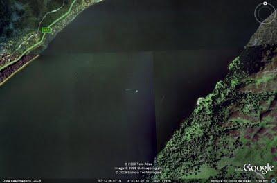 Monstro do Lago Ness é fotografado pelo Google? 219