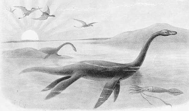 Monstro do Lago Ness Plesio11