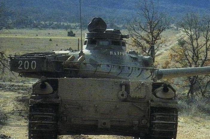 AMX 30 : marquages de tourelle Char_210
