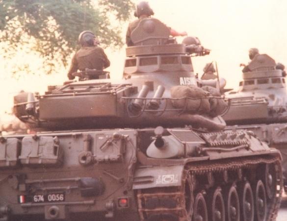 AMX 30 : marquages de tourelle Char_s11