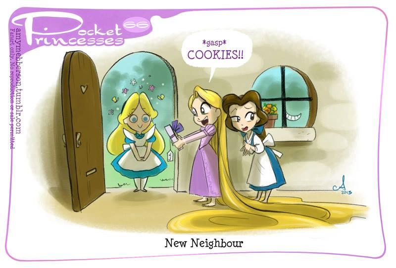 [Dessins humoristiques] Amy Mebberson - Pocket Princesses - Page 3 10168510