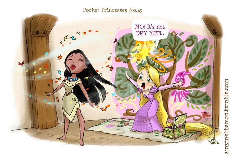 [Dessins humoristiques] Amy Mebberson - Pocket Princesses - Page 3 16717_10