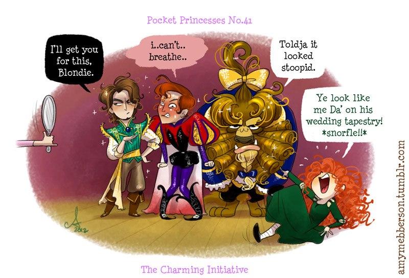 [Dessins humoristiques] Amy Mebberson - Pocket Princesses - Page 3 18198_10