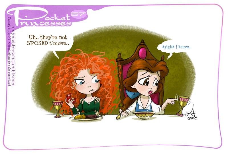 [Dessins humoristiques] Amy Mebberson - Pocket Princesses - Page 3 31739310