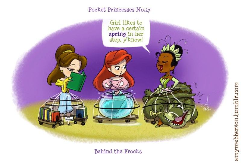 [Dessins humoristiques] Amy Mebberson - Pocket Princesses - Page 2 32009810