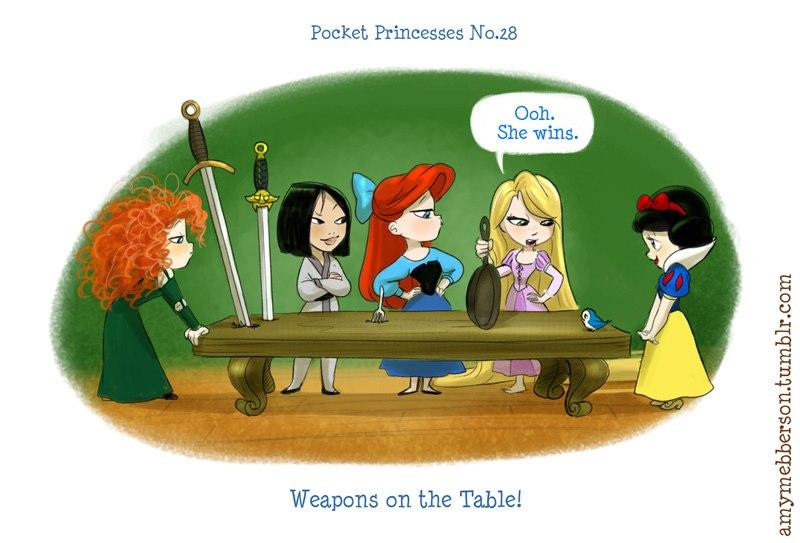 [Dessins humoristiques] Amy Mebberson - Pocket Princesses - Page 2 37670910