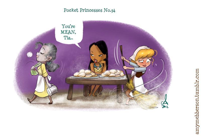 [Dessins humoristiques] Amy Mebberson - Pocket Princesses - Page 2 43013410