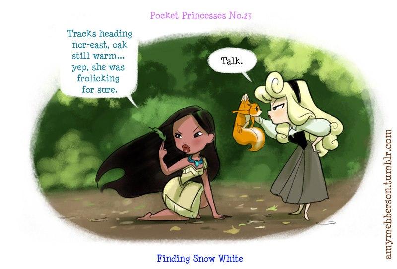 [Dessins humoristiques] Amy Mebberson - Pocket Princesses - Page 2 55457210