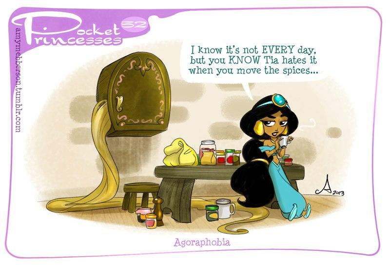 [Dessins humoristiques] Amy Mebberson - Pocket Princesses - Page 3 57792010