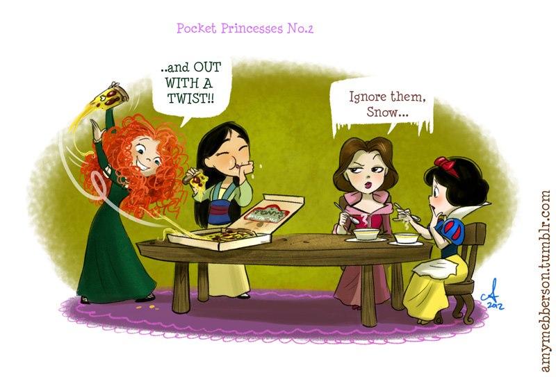 [Dessins humoristiques] Amy Mebberson - Pocket Princesses - Page 2 62195_10