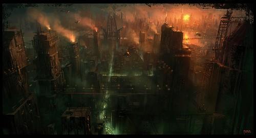[W40K] Collection d'images : Villes et Ruches dans Wharmmer 40.000 Cityda10