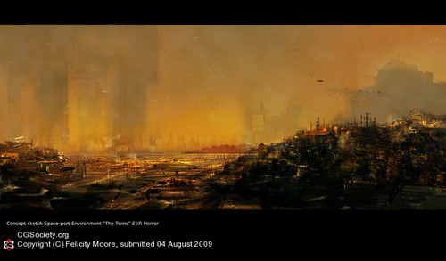 [W40K] Collection d'images : Villes et Ruches dans Wharmmer 40.000 Citydr10