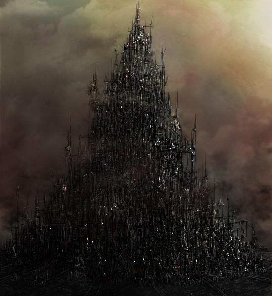 [W40K] Collection d'images : Villes et Ruches dans Wharmmer 40.000 Hive_c13