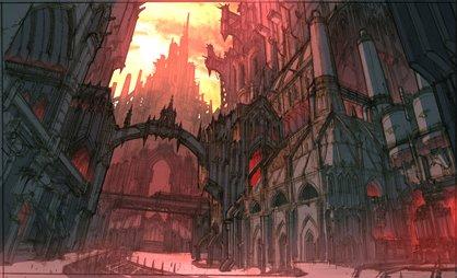 [W40K] Collection d'images : Villes et Ruches dans Wharmmer 40.000 Imperi10