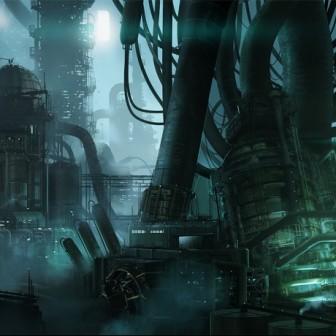 [W40K] Collection d'images : Villes et Ruches dans Wharmmer 40.000 Sci-fi10