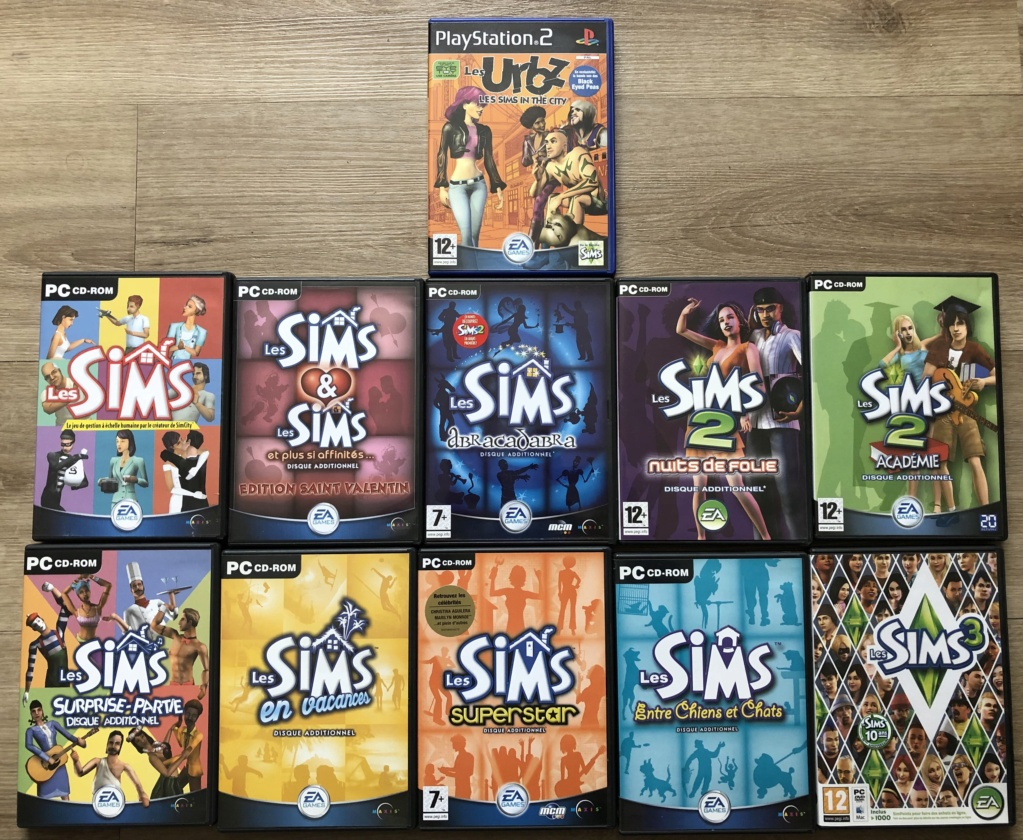 Serie the sims 1c6c0310