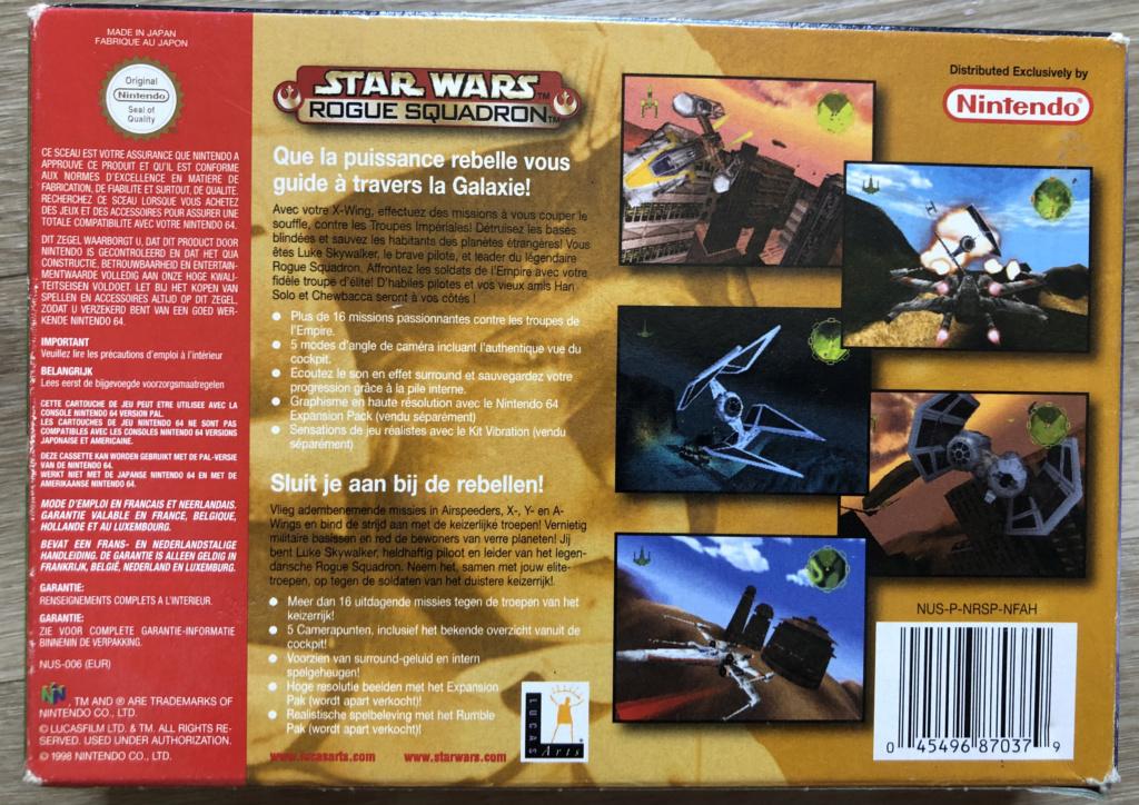 Star Wars : Rogue Squadron 5c929510