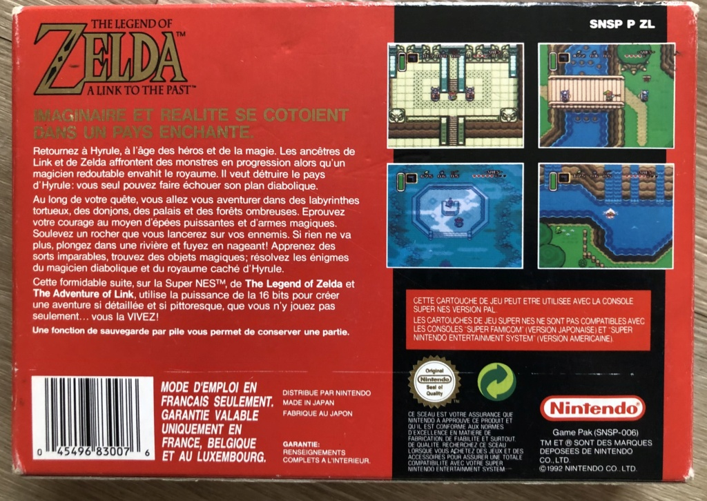 The Legend of Zelda : A Link to the Past 639e9610