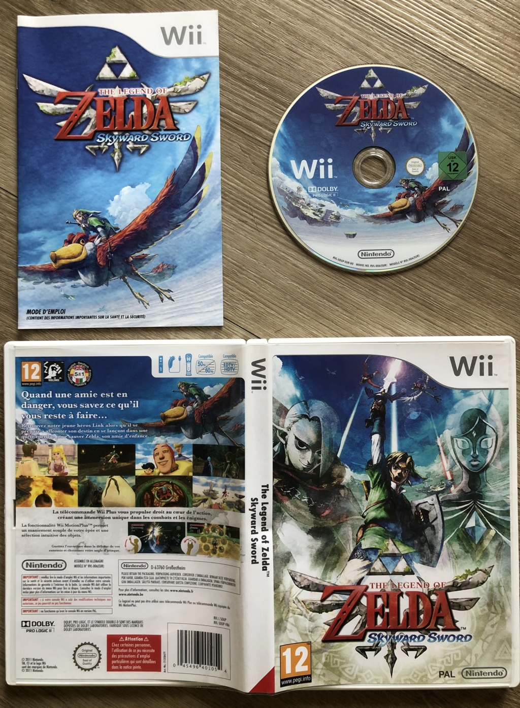 The Legend of Zelda : Skyward Sword B0b48210