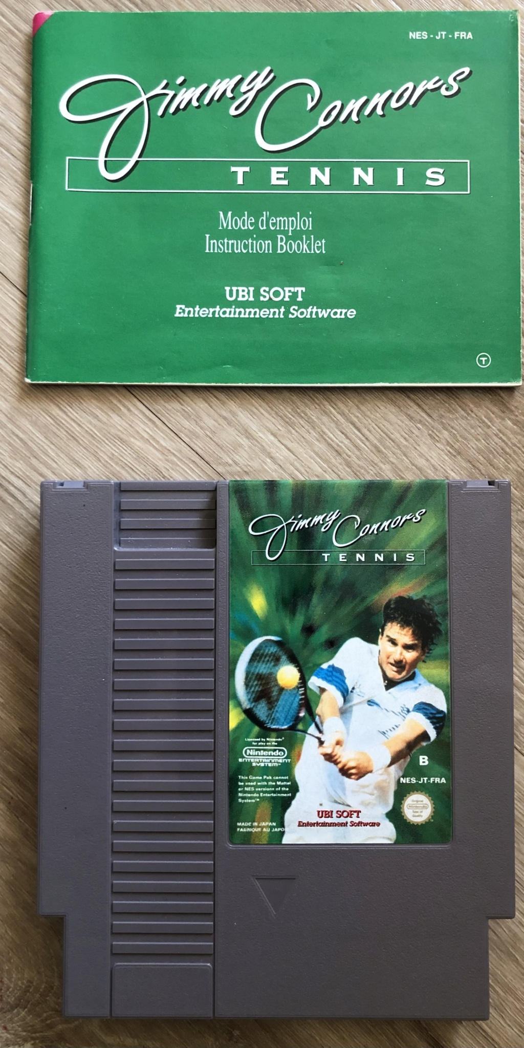 Jimmy Connors Tennis E4eac010