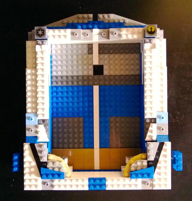 Support flipper Pour Ipad mini en LEGO Marlou14